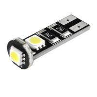Автомобильная лампочка светодиодная с обманкой Galaxy W5W T10-5050-3SMD CANBUS