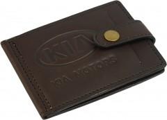 "Avtoradosti Зажим для денег ""Kia"" темно-коричневый"