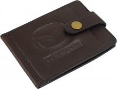 "Avtoradosti Зажим для денег ""Mazda"" темно-коричневый"