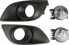Противотуманные фары для Suzuki Swift '10-17, комплект (Dlaa)