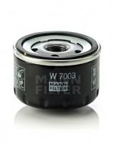 Масляный фильтр MANN-FILTER W 7003