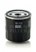 Масляный фильтр MANN-FILTER W 712