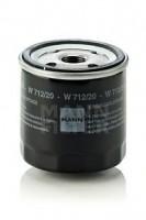 Масляный фильтр MANN-FILTER W 712/20