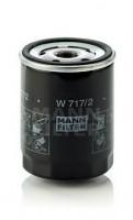 Масляный фильтр MANN-FILTER W 717/2