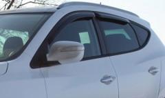 Дефлекторы окон для Hyundai ix-35 '10-15 (Auto Сlover)