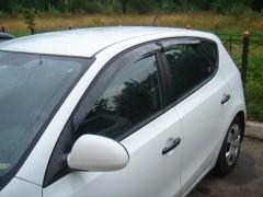 Дефлекторы окон для Hyundai i30 FD '07-12, хетчбек (Auto Сlover)