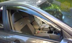 Дефлекторы окон для Kia Cerato '04-09, седан (Auto Сlover)