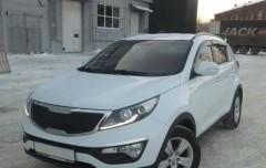 Дефлекторы окон для Kia Sportage '10-15 (Auto Сlover)