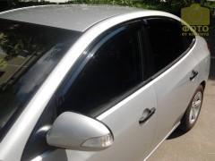 Дефлекторы окон для Hyundai Elantra HD '06-10 (Auto Сlover)