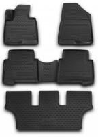 Novline Коврики в салон 3D для Hyundai Grand Santa Fe '13- DM полиуретановые (Novline)