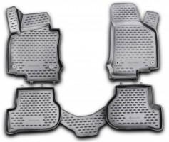 Novline Коврики 3D в салон для Volkswagen Golf VI '09-12 полиуретановые, черные (Novline)
