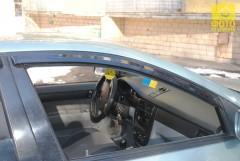 Дефлекторы окон для Chevrolet Lacetti '03-12, седан (Auto Сlover)