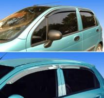 Дефлекторы окон для Daewoo Matiz '01- (Auto Сlover)