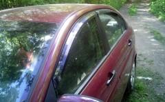 Дефлекторы окон для Hyundai Accent '06-10 (Auto Сlover)