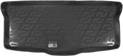 Коврик в багажник для Citroen C1 '05-14, резиновый (Lada Locker)