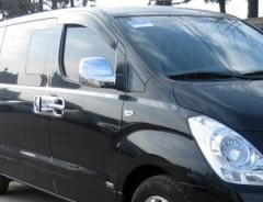Дефлекторы окон для Hyundai H-1 '07- (Auto Сlover)