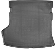 Коврик в багажник для Lifan 720 '12-, резино/пластиковый (NorPlast) черный