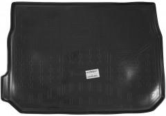 Коврик в багажник для Peugeot 2008 '13-, резино/пластиковый (NorPlast) черный