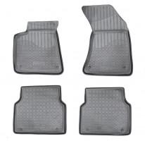 Коврики в салон для Audi A8 '10- полиуретановые, черные (Nor-Plast)
