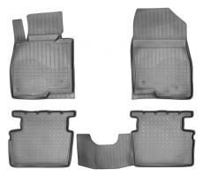 Коврики в салон для Mazda 3 '14- полиуретановые (Nor-Plast)