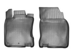 Передние коврики для Nissan Qashqai '14- полиуретановые, черные (Nor-Plast)