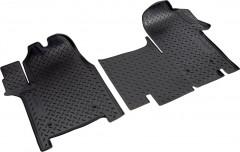 Коврики в салон для Renault Master '10- полиуретановые, черные (Nor-Plast)