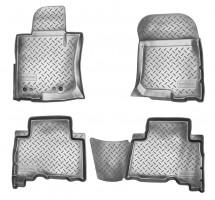 Коврики в салон для Toyota Land Cruiser Prado 150 '13- полиуретановые (Nor-Plast)