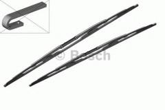 Щётки стеклоочистителя каркасные Bosch Twin 650 и 650 мм. спец. крепеж (к-кт) 808