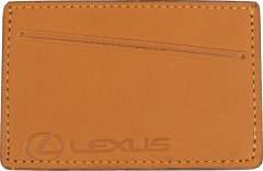 """Обложка для прав/тех.паспорта светло-коричневая """"Lexus"""""""