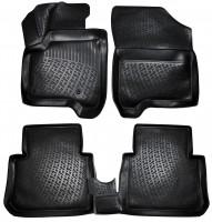 Коврики в салон для Citroen C3 '10- Picasso полиуретановые, черные (L.Locker)