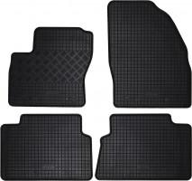 Коврики в салон для Ford Kuga '08-13 резиновые, черные (Rigum)