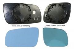 Вкладыш зеркала бокового Skoda Octavia '00-09 big правый (FPS) FP 0013 M54