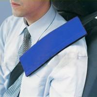 Подушка на ремень безопасности синяя