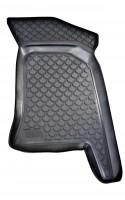 Фото 3 - Коврики в салон для Lada (Ваз) 2110-12 полиуретановые, черные (L.Locker)