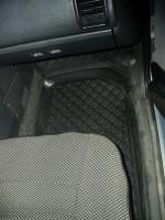 Фото 8 - Коврики в салон для Lada (Ваз) 2110-12 полиуретановые, черные (L.Locker)