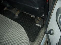 Фото 10 - Коврики в салон для Lada (Ваз) 2110-12 полиуретановые, черные (L.Locker)
