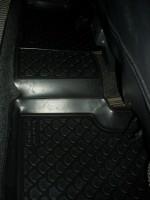 Фото 12 - Коврики в салон для Lada (Ваз) 2110-12 полиуретановые, черные (L.Locker)