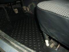 Фото 13 - Коврики в салон для Lada (Ваз) 2110-12 полиуретановые, черные (L.Locker)