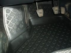 Фото 14 - Коврики в салон для Lada (Ваз) 2110-12 полиуретановые, черные (L.Locker)