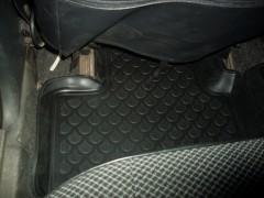Фото 15 - Коврики в салон для Lada (Ваз) 2110-12 полиуретановые, черные (L.Locker)