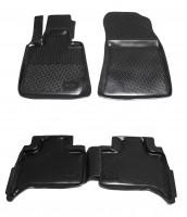Коврики в салон для BMW X5 E53 '00-07 полиуретановые, черные (L.Locker)