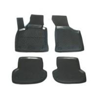 Коврики в салон для Audi A3 '04-12 полиуретановые, черные (L.Locker)