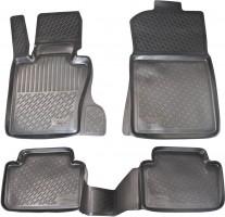 Коврики в салон для BMW X3 E83 '03-09 полиуретановые, черные (L.Locker)