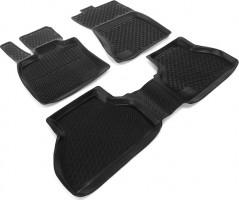Коврики в салон для BMW X5 E70 '07-13 полиуретановые, черные (L.Locker)