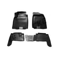 Коврики в салон для Nissan Patrol '10- полиуретановые, черные (L.Locker)