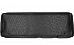 Коврики в салон для Nissan Patrol '10- полиуретановые, черные (L.Locker) 3 ряд