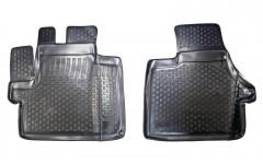 Коврики в салон для Peugeot Boxer '07- полиуретановые, черные (L.Locker)