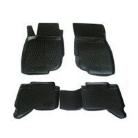 Коврики в салон для Toyota Hilux '05-15 полиуретановые (L.Locker)