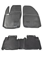 Коврики в салон для Ford S-Max '06-15 полиуретановые (L.Locker)