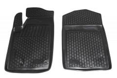 Коврики в салон для Peugeot Partner '02-08 полиуретановые, черные (L.Locker) передние